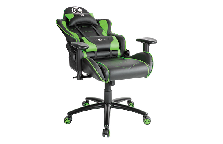 Buy Circle Gaming Chair Ch70 Black Green Online Gaming Chairs In