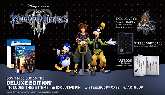 kingdom hearts deluxe edition opening