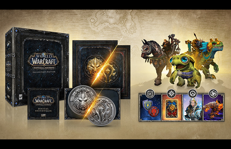 Buy World of Warcraft: Battle for Azeroth Collector's