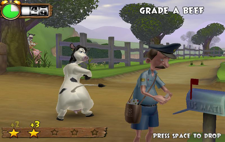 back at the barnyard ps2 game