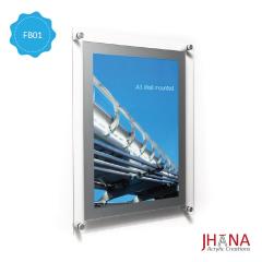 Acrylic Frame Dinding 02R10 2mm - FB02R10FD0C