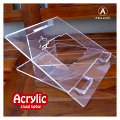 Stand Holder laptop Foldable 5mm Arylic Clear