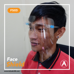 Face Shield Artis Protective Kacamata Anti Fog FS03