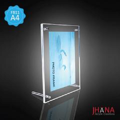 Acrylic Frame Meja 11A4 2mm - FB11ZA4SFM0C