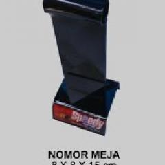 Acrylic Nomor Meja NM07