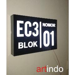 Nomor Rumah LED NR11