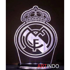 Lampu Hias - Real Madrid