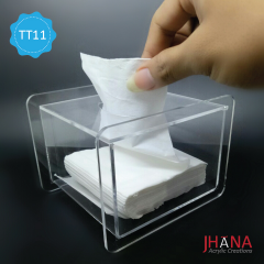 Tempat Tisu Akrilik / Acrylic / Tissue Holder / Holder Tissue / TT11