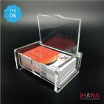 Acrylic Id Card Holder Box - TK01Z2RBX0G