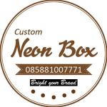 D 40cm Neon Box Acrylic Ring Galvanis 1 Sisi - NBRGZ40SS1F