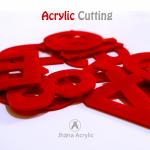 Cutting Huruf Acrylic Laser Cutt Motif Huruf dan Angka