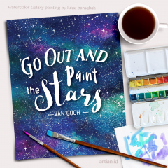 Go Out & Paint the Stars