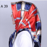 HIJAB SILK SEGI EMPAT PREMIUM / KERUDUNG MUSLIMAH HMA039