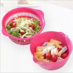 DP020 Keranjang baskom wadah cuci buah dan sayuran masak