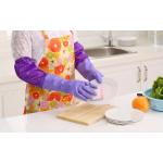 RT029 Sarung Tangan Cuci Piring Baju Sarung Tangan Panjang Bhn Karet