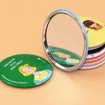 RT042 Cermin Imut Bulat / Cermin Kecil