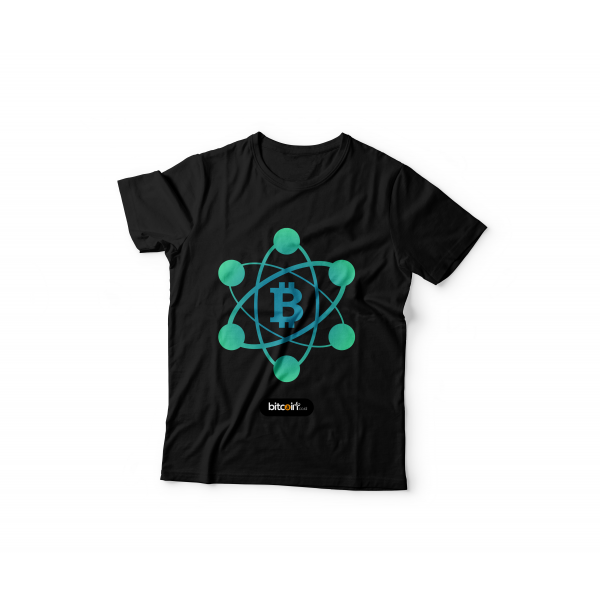 Tshirt BItcoin Network ( Black )
