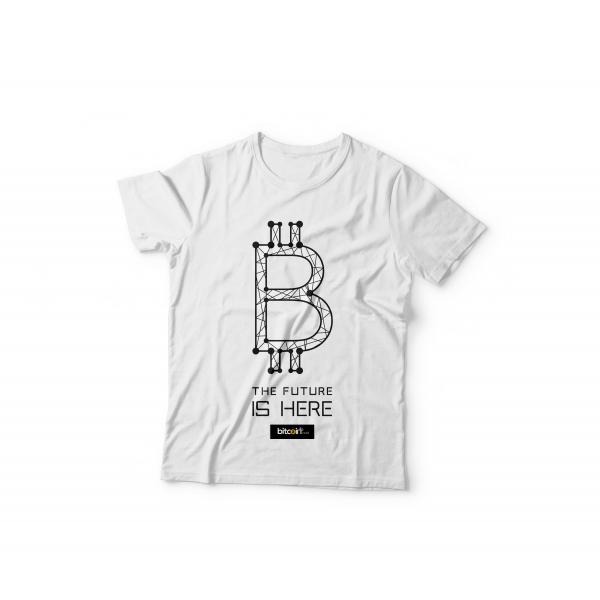 Tshirt BItcoin Dots ( Black )