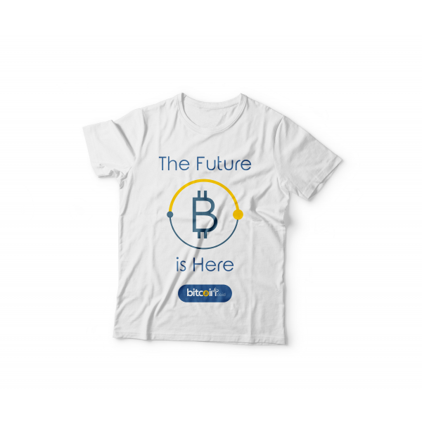Tshirt The Future Is Here ( White )