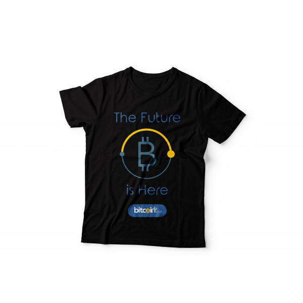 Tshirt The Future Is Here ( Black )