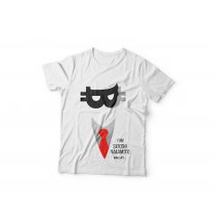 Tshirt I Am Satoshi ( White )