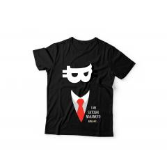 Tshirt I Am Satoshi ( Black )