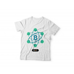 Tshirt BItcoin Network ( White )