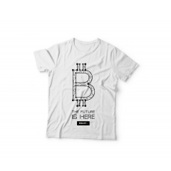 Tshirt BItcoin Dots ( Black )