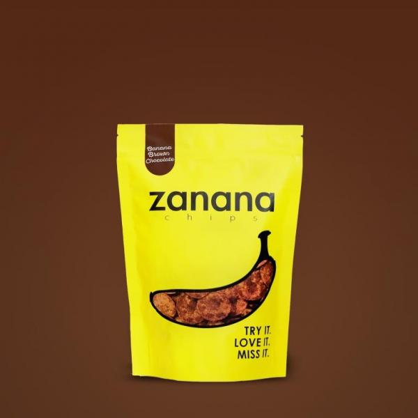 Zanana Chips Brown Chocolate