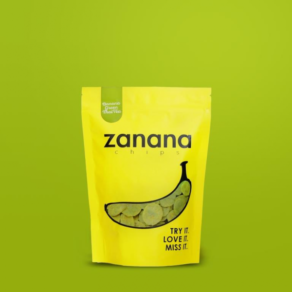 Zanana Chips Green Thai Tea