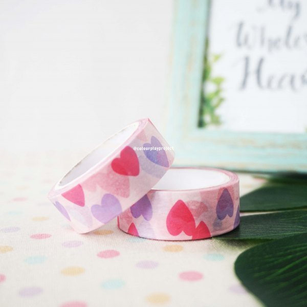 W1440 Japan Love Washi / Masking tape