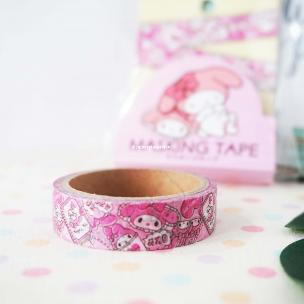 W1447 Japan Melody Washi / Masking tape