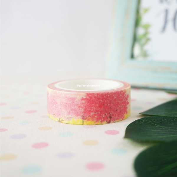 W1468 Japan Sakura Tree Washi / Masking tape