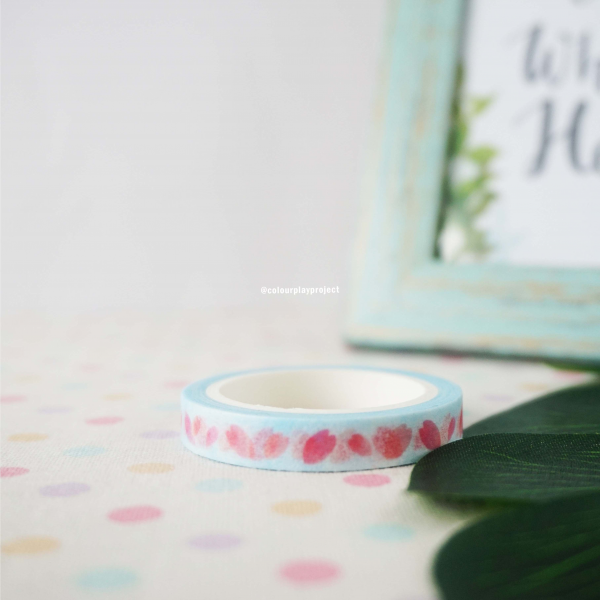 W1469 Japan Sakura Petals Washi / Masking tape