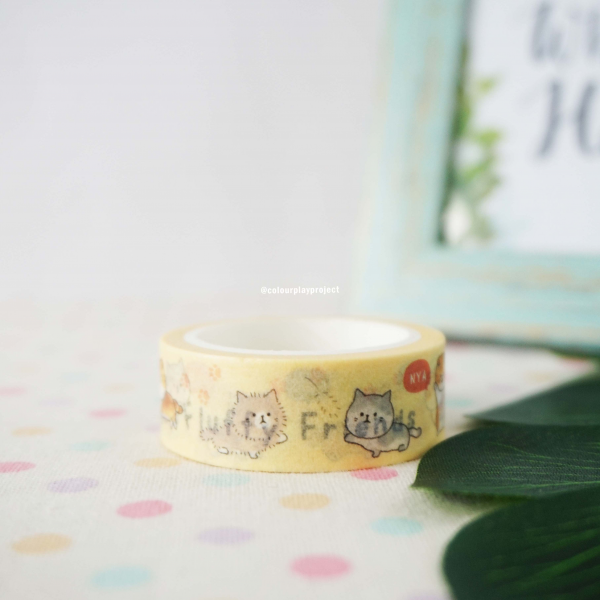 W1477 Japan Cat Washi / Masking tape