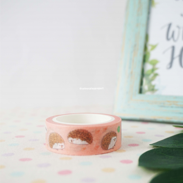 W1478 Japan Hedgehog Washi / Masking tape