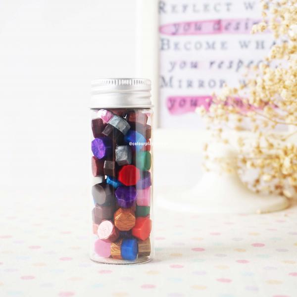 Wax bead in bottle - Wax bead botol (untuk surat menyurat)