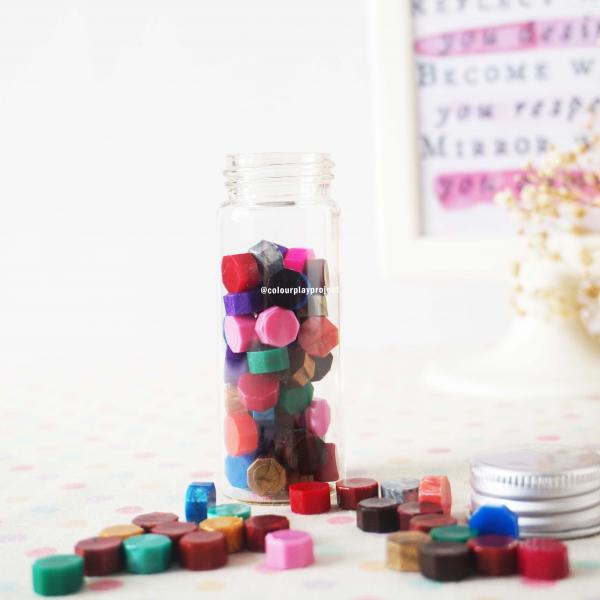 Wax bead in bottle - Wax bead botol (untuk surat menyurat)1