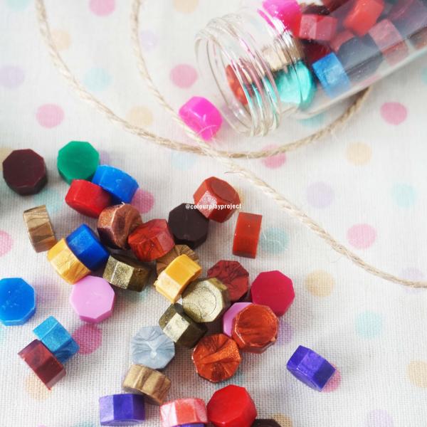 Wax bead in bottle - Wax bead botol (untuk surat menyurat)2