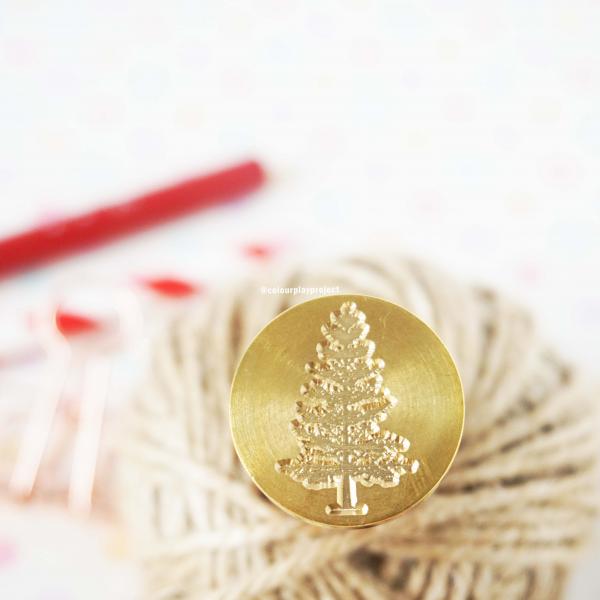 Wax Stamp Motif 9 - Christmas Tree