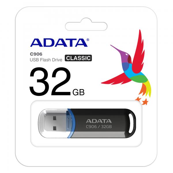 ADATA USB FlashDrive C906 16gb black