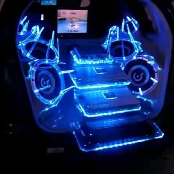 custom box lighting acrylic &mounting innova 2008