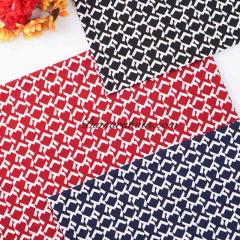 Knitting polyester tebal abstrak