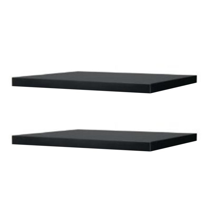 Rak Dinding/Ambalan 30x20cm - Hitam