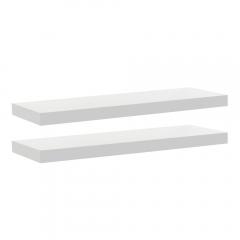 Rak Dinding/Ambalan 2 Buah [60x20cm] - Putih
