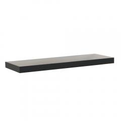 Rak Dinding/Ambalan 60x20cm - Hitam