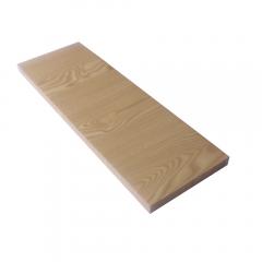 Rak Dinding/Ambalan 60x20cm - Krem Serat Kayu
