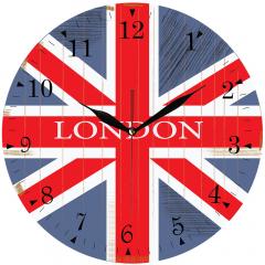 Jam Dinding London - Sweep Movement