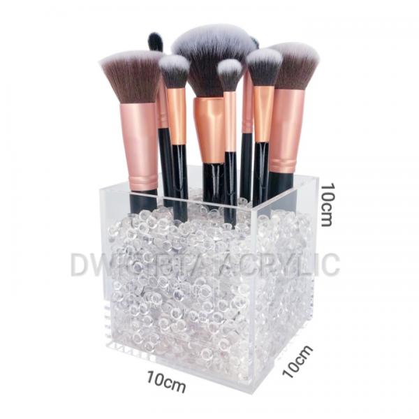 Acrylic Brush Holder / Tempat Brush Kosmetik