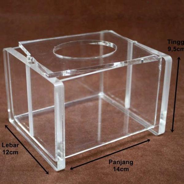 Acrylic Tempat Tissue